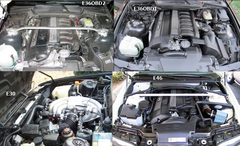 Differences In Wrenching E30 E36 E46